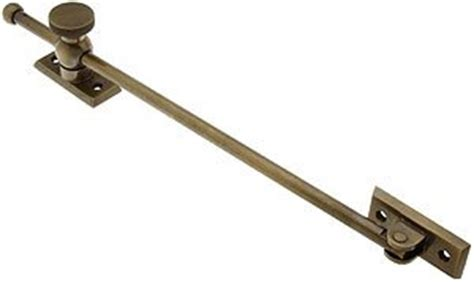 window hardware 12 quot casement window adjuster with beveled bases in antique