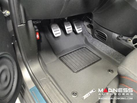aries 3d floor liners fiat 500 floor liners front only 3d by aries black fiat 500 parts and accessories
