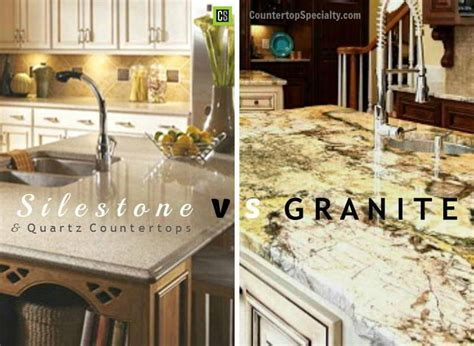 granite corian silestone vs granite vs quartz countertop materials