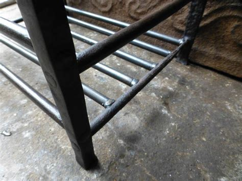 Basket Fireplace Grate by 18th Century Fireplace Basket Grate At 1stdibs