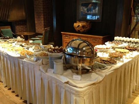 buffet picture of little america hotel sunday brunch
