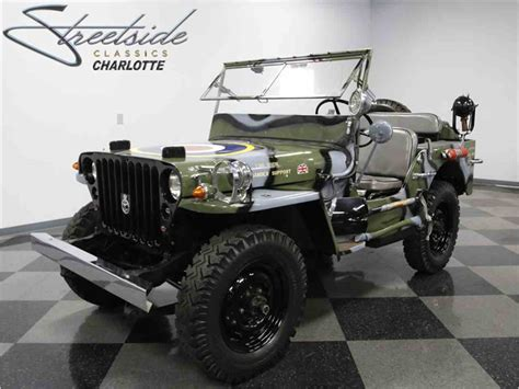 wwii jeep for sale 1945 willys mb military jeep for sale classiccars com
