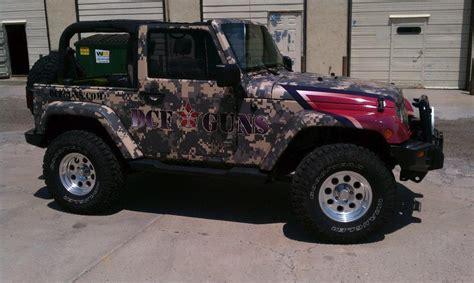 Jeep Wrangler Wraps Big Vehicle Wraps Window Graphics Denver Custom