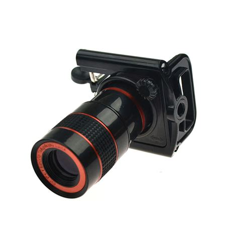 Mobile Phone Telescope Lens 8x Optical Zoom Universal Cl Black 22 universal 8x zoom optical lens mobile phone telescope