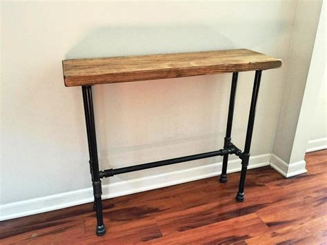metal table with drawers wood and metal console table with drawers console table