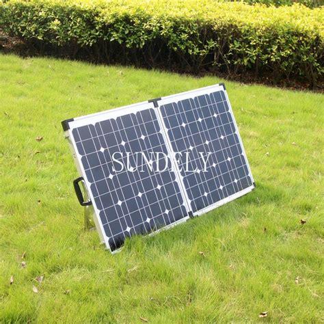 foldable boat kit 120w 2 60w portable folding solar panel foldable kit 12v