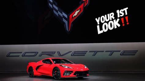 world premiere  chevrolet corvette  reveal full