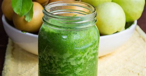 Just Salad Detox Smoothie by Apple Asian Pear Detox Smoothie Theunprocessedhome