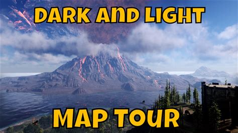 darkness and light tour dark and light map tour youtube