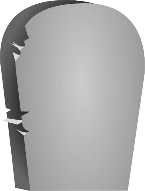 tombstone clipart rounded tombstone clip at clker vector