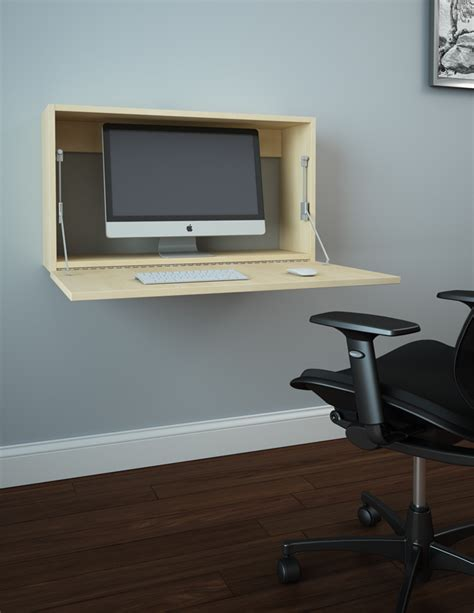 Wall Mounted Desk by Wall Mounted Desk