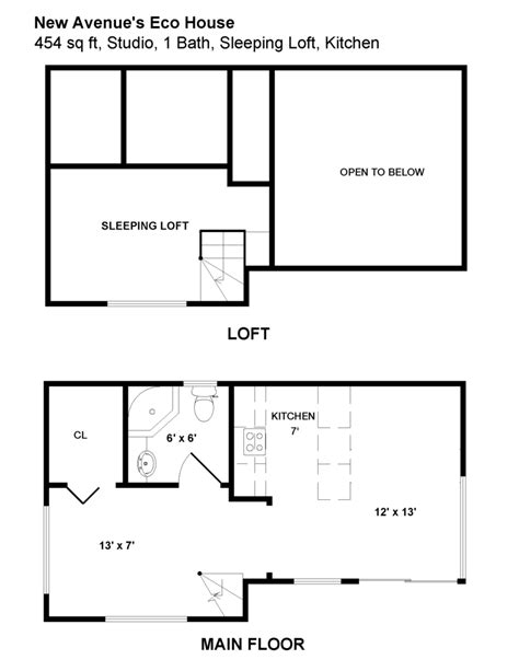 eco home floor plan new avenue