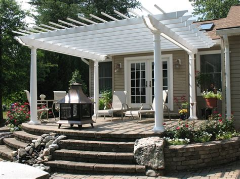 a backyard idea set in severn md premier ponds dc md pergola and patio cover severn md photo gallery