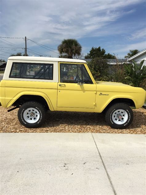 ford bronco for sale 1969 ford bronco for sale