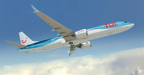 boeing tui group announce selection    max