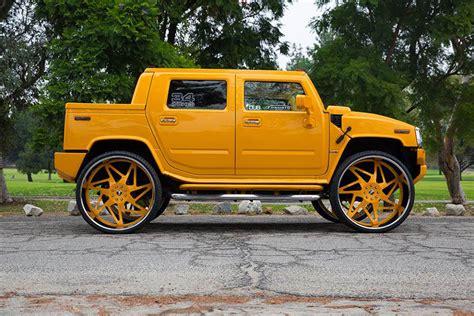 hummer with rims hummer h2 on 34 inch forgiato wheels big rims custom