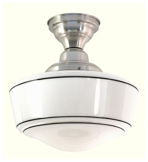 Traditional Ceiling Light Fixtures Northwestern 6 Semi Flushmount Ceiling Fixture Traditional Flush Mount Ceiling Lighting
