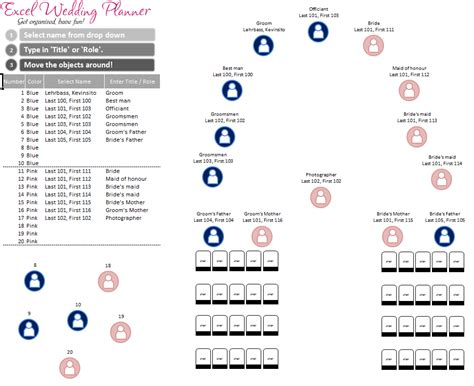 wedding calendar template free excel wedding planner template today