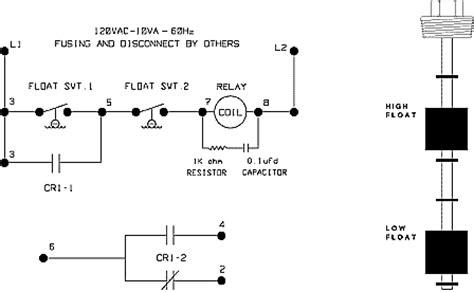 Float Switch Liquid Level Sensor Advanced Control