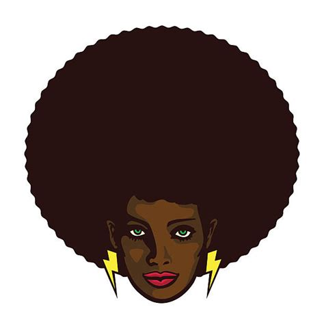afro hairstyles vector royalty free afro clip art vector images illustrations