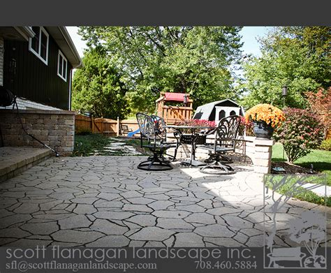 Patio Orland Park by Flanagan Landscape Contractor In Orland Park