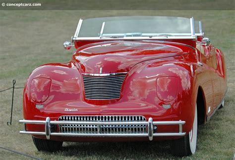 chrysler phaeton 1940 chrysler newport concept pictures history value