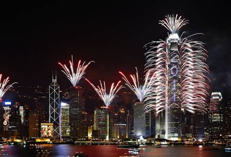 new year fireworks hong kong time best places in the world to see new year s fireworks
