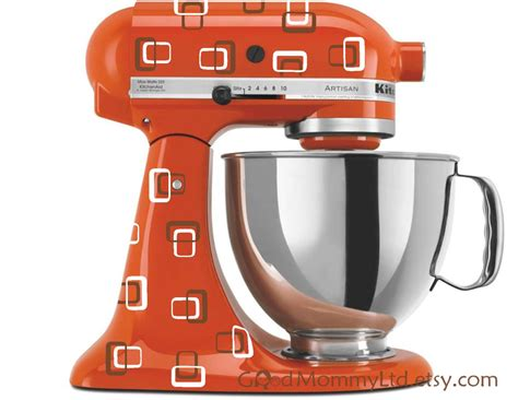 A Very Brady Mixer Retro Decals for Your Kitchenaid Stand