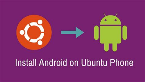 how to install ubuntu on phone install android on bq aquaris ubuntu phone in linux