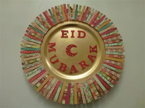 eid decorative plate ramadan eid ideas and food pinterest