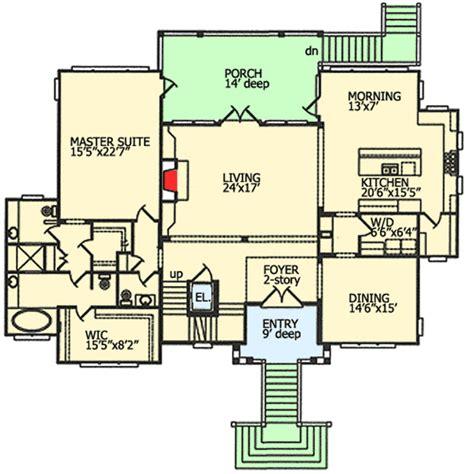 spacious floor plans spacious beach house plan 15038nc architectural