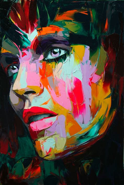 colorful painting eye popping oil paintings by fran 231 oise nielly art nectar
