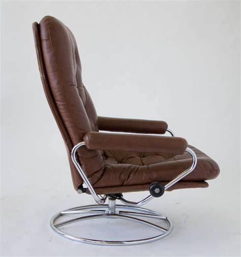 stressless recliner chairs sale ekornes stressless chair and ottoman for sale at 1stdibs