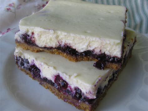 easy blueberry cheesecake bars tasty kitchen a happy