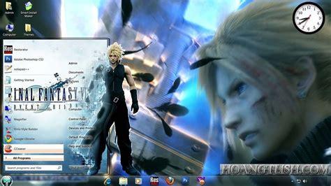 theme google chrome final fantasy 7 style win7 final fantasy vii by hoangtush on deviantart