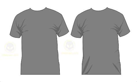 kaos polos untuk desain baju template kaos polos depan belakang photoshop preview