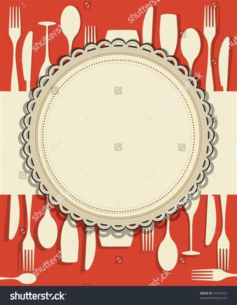 restaurant menu design stock vector 97416923 shutterstock
