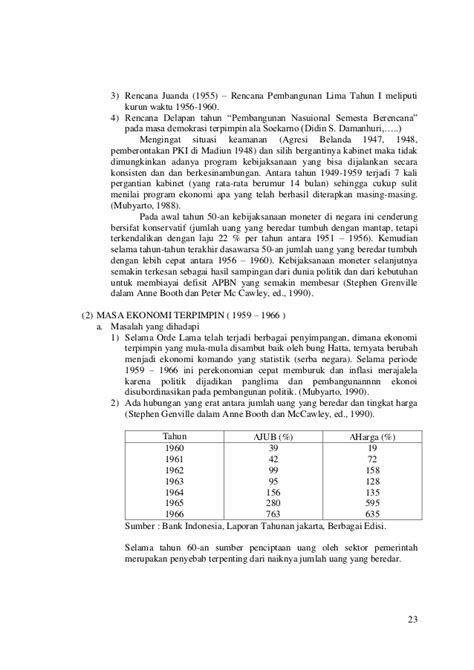 Prekonomian Indonesia Tulus perekonomian indonesia