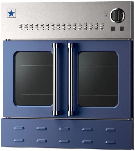 door wall ovens bluestar bwo30ags 30 inch single door gas wall oven