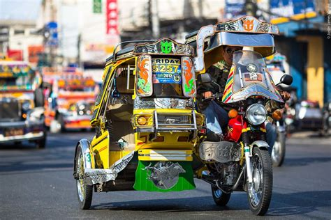 Those Fun Tricycles In The Philippines
