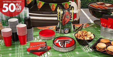 Football Decorations City by Nfl Atlanta Falcons Supplies City