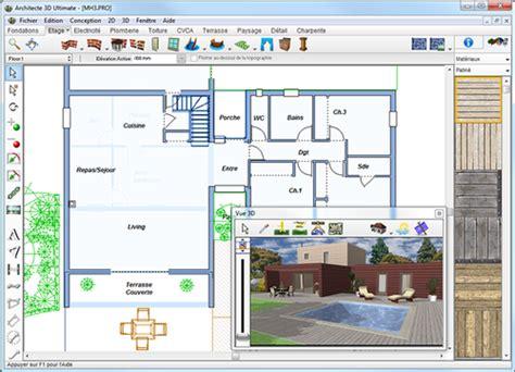 logiciel 3d cuisine gratuit francais logiciel dessin maison 3d gratuit francais 5 architect