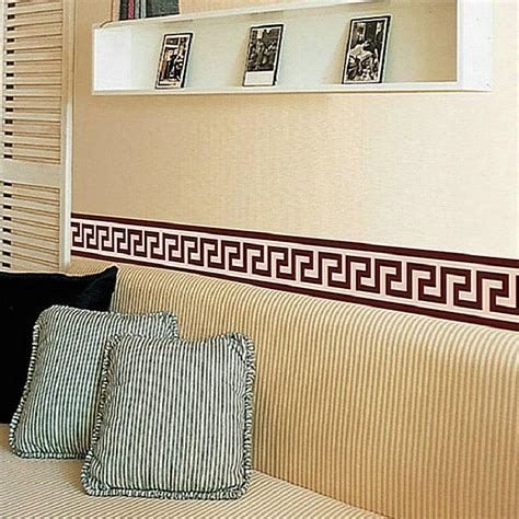 borders for rooms wall border liner sticker wall decor mural diy home decoration check mural wallpaper decor