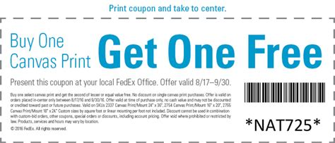 Fedex Office Coupon by Print Your Photos And To Canvas Fedex Office