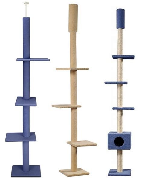 Floor To Ceiling Cat Tower by Build A Furniture With Plan This Is Floor To Ceiling Cat