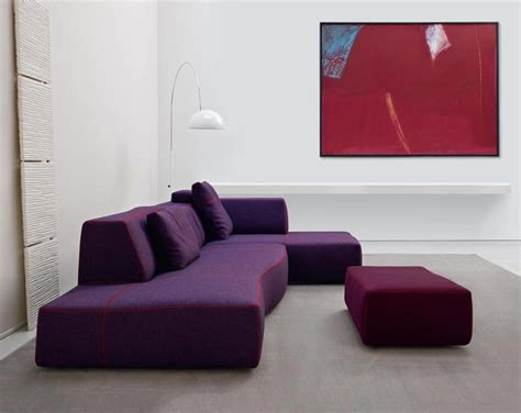 modern purple sofa sofa ideas