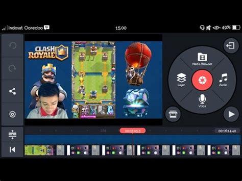 tutorial edit video di android tutorial edit facecam green screen video gaming di