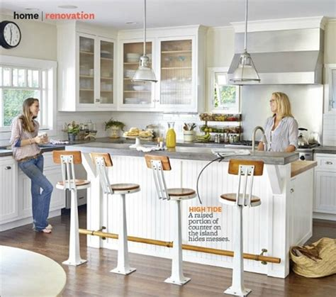 Bar Height Kitchen Island by Counter Vs Bar Height Centsational
