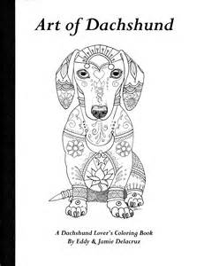 art dachshund coloring book volume 1 physical book