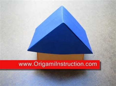 How To Make A 3d Origami House - origami 3d house japanese style house design ideas